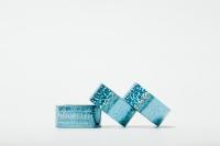 Обмотка Pastorelli DIAMOND металлик-голубой 00241