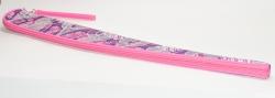 Чехол для палочки с лентой SQ Розовый-блестки