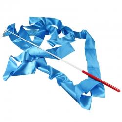 Набор лента+палочка голубой