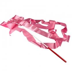 Набор лента+палочка розовый