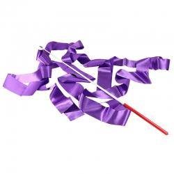 Набор лента+палочка фиолетовый