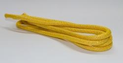 Скакалка SQ желтая с люрексом