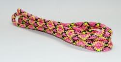 Скакалка SQ разноцветная с люрексом