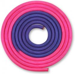 Скакалка гимнастическая INDIGO фиолетово-розовый